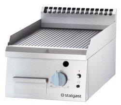 Płyta grillowa gazowa nastawna ryflowana 400 - G20 STALGAST 9730210 9730210