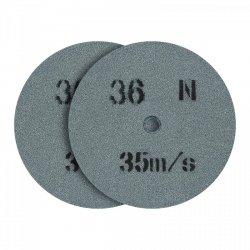 Tarcza do szlifowania - ziarnistość 36 - 150 x 20 mm - 2 szt. MSW 10060807 MSW-GW-150/20-36