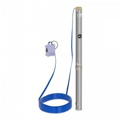 Pompa głębinowa - 1100W - do 54 m - stal nierdzewna MSW 10060173 MSW-SPP48-110