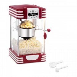 Maszyna do popcornu bredeco - retro BREDECO 10080006 BCPK-300-WR