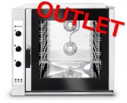 OUTLET | Piec konwekcyjno-parowy 7 x GN 1/1 elektryczny - sterowanie manualne HENDI 225554 225554