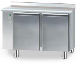 Stół chłodniczy bez agregatu o pojemności 2x110l 1125x700x850 DM-90002.0.0 DORA METAL DM-90002.0.0 DM-90002.0.0 700