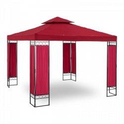 Pawilon ogrodowy - kwadratowy - czerwone wino UNIPRODO 10250042 UNI_PERGOLA_3X3RF
