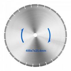 Tarcza do piły do kamienia - 400 mm - 25,4 mm MSW 10060809 MSW-TB-400/25