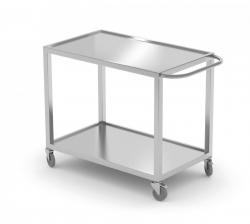 Wózek kelnerski dwupółkowy 1100 x 500 x 850 mm