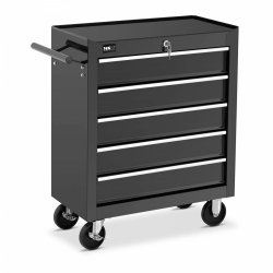 Wózek narzędziowy - 5 szuflad MSW 10061326 MSW-WWG-12