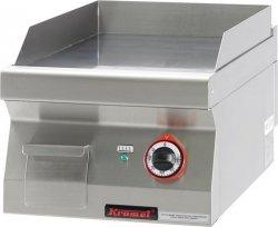 Płyta beztłuszczowego smażenia elektryczna gładka chromowana  450x900x280 mm KROMET 900.PBE-450G-C 900.PBE-450G-C