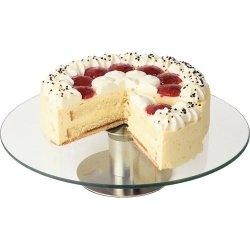 Patera do tortu i ciast szklana d 300 mm STALGAST 545012 545012
