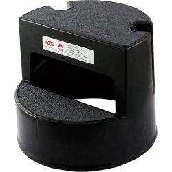 Taboret na kółkach, 2-stopniowy, czarny STALGAST 669330 669330