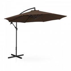 Parasol ogrodowy wiszący - Ø300 cm - brązowy UNIPRODO 10250089 UNI_UMBRELLA_R300BR