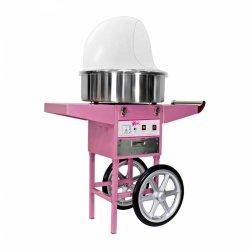 OUTLET | Maszyna do waty cukrowej - 52 cm - wózek - pokrywa ROYAL CATERING 10010083 RCZC-1200E