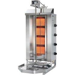 Gyros, kebab, grill gazowy, POTIS, GD-4, STALGAST 777540 777540