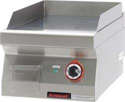 Płyta bezpośredniego smażenia gładka chromowana  400x700x280 mm KROMET 700.PBE-400G-C 700.PBE-400G-C