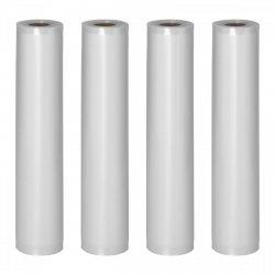 Folia moletowana do pakowania próżniowego - 4 rolki - 600 x 30 cm ROYAL CATERING 10010683 RCVR-SET 5