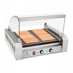 Grill rolkowy - 11 rolek - teflon ROYAL CATERING 10010472 RCHG-11T