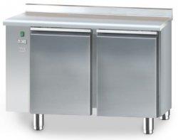 Stół mroźniczy bez agregatu o pojemności 2x110l 1125x700x850 DM-S-90502.0.0 DORA METAL DM-S-90502.0.0 DM-S-90502.0.0