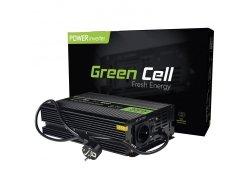Przetwornica Napięcia Green Cell Zasilacz UPS do Pieców i Pomp Centralnego Ogrzewania 300W GREEN CELL INV07