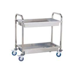 Wózek kelnerski - 2 półki - głęboki ROYAL CATERING 10010080 RCGW 2