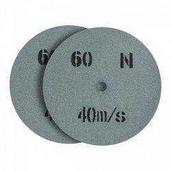 Tarcza do szlifowania - ziarnistość 60 - 200 x 20 mm - 2 szt. MSW 10060806 MSW-GW-200/20-60