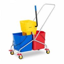 Wózek do sprzątania - 2 x 24 l Ulsonix 10050252 UNICLEAN 10