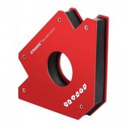 Uchwyt magnetyczny spawalniczy - kątownik - duży STAMOS 10020695 SWG-MWH-L
