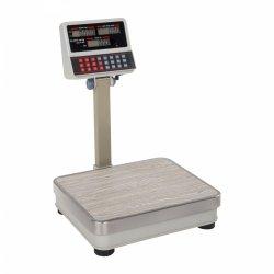 OUTLET | Waga sklepowa Steinberg Systems SBS-PW-100/10 100kg podziałka 10g biała LCD STEINBERG 10030111 SBS-PW-100/10