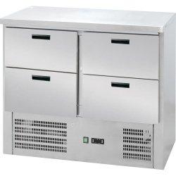 Stół chłodniczy 4 szuflady agregat na dole STALGAST 842041 842041