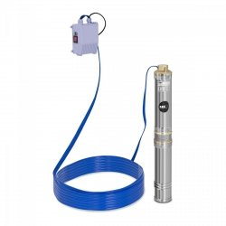 Pompa głębinowa - 370W - do 43 m - stal nierdzewna MSW 10060171 MSW-SPP44-037