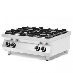 Kuchnia gazowa 4-palnikowa Kitchen Line, stołowa HENDI 227381 227381