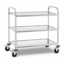 Wózek kelnerski - 3 półki - 240 kg ROYAL CATERING 10011475 RCSW 3B