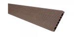 Deska tarasowa kompozytowa Viva ryflowana szlifowana 24x145x2400mm ciemny  brąz