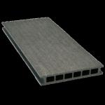 Deska tarasowa GAMRAT - kompozytowa ryflowana 25x160x4000mm Grafit Wersja P