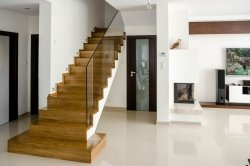 Trep dębowy lity drewniany kl.natur 20x300x1000mm