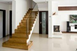 Trep dębowy lity drewniany kl.natur 40x300x1000mm