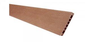 Deska tarasowa kompozytowa Viva ryflowana szczotkowana 24x145x2400mm brąz