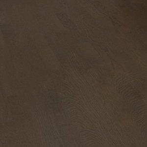 Deska podłogowa warstwowa - Dąb wędzony Dark Classic 14x120x1000-1400mm fazowana,szczotkowana, lakierowana