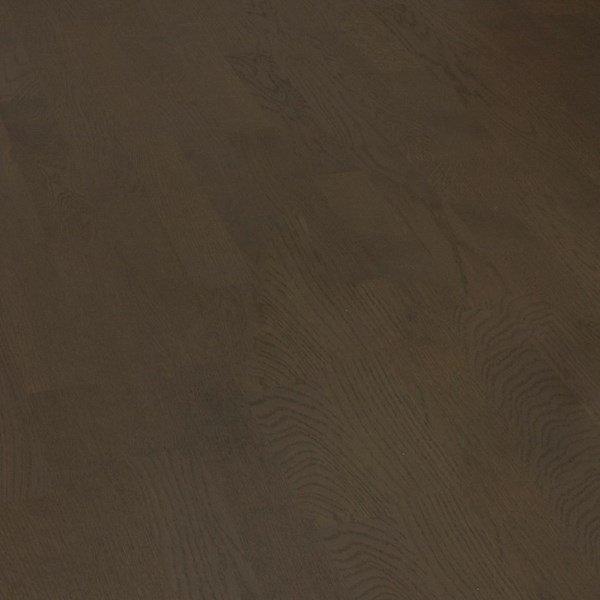 Deska podłogowa warstwowa - Dąb wędzony Dark Classic 14x150x1000-1400mm fazowana,szczotkowana, lakierowana