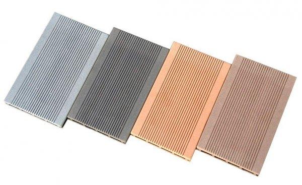 Deska tarasowa kompozytowa iDeck Luna brąz ryflowana 25x150x2400mm