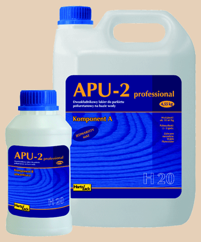 HartzLack APU-2 Professional mat 2l