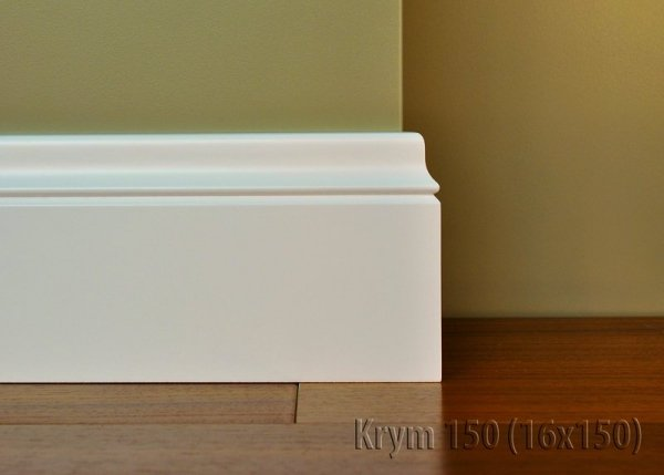 Cokół MDF Krym 150 16x150x2620mm biały