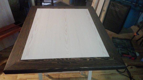 Stół lity lity sosnowy 40x930x1140mm