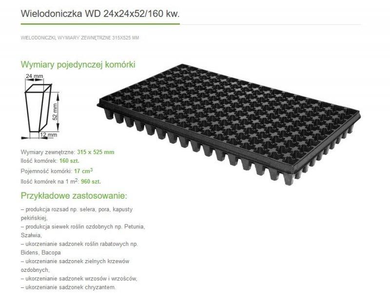 Wielodoniczka JRK 160 komórek