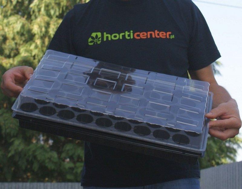 Miniszklarenka HORTICENTER MS54 duża 54 doniczki