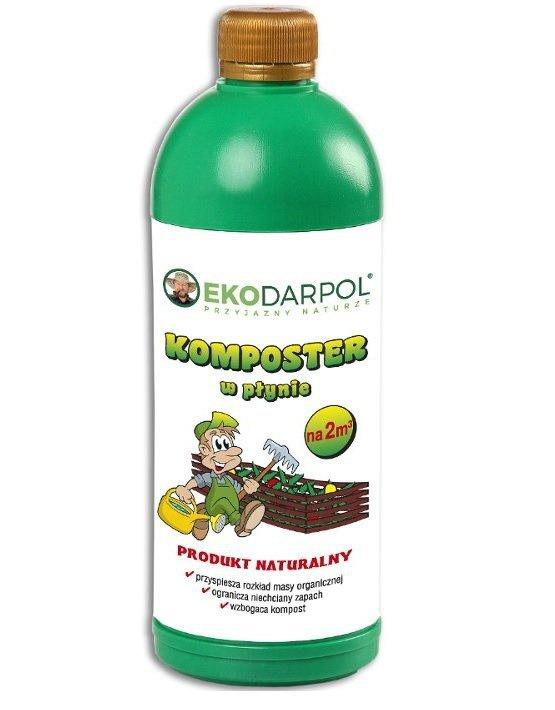Komposter w płynie naturalny EKODARPOL 1l