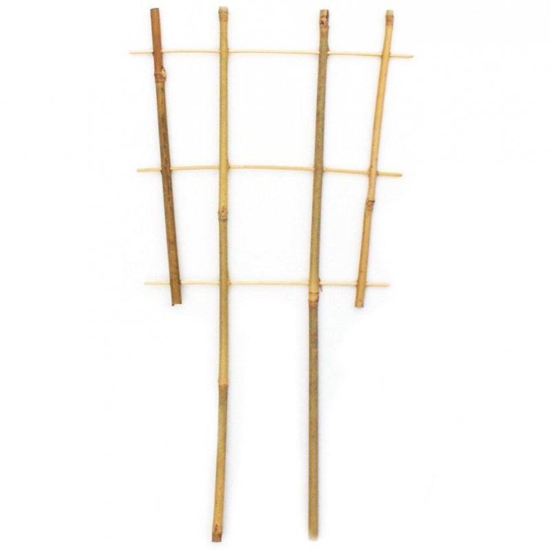 Drabinka bambusowa poczwórna