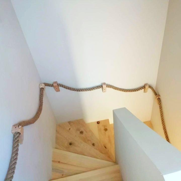LINA JUTOWA ozdobna kręcona sznur na metry fi 40mm