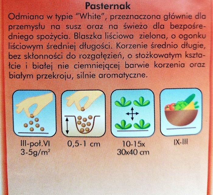 Pasternak Plantico - opakowanie