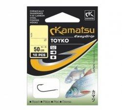 Kamatsu TOYKO Haczyki z Przyponem r.8 10szt