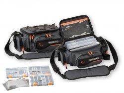 Savage Gear Torba SYSTEM BOX BAG L 4 Pudełka