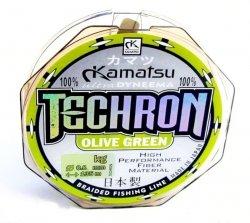 Konger Plecionka KAMATSU TECHRON Olive Green 0,06mm 100m